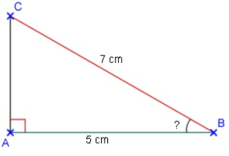 calculer angle exemple